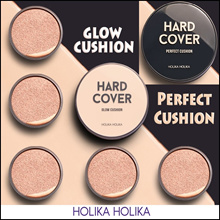 [Holika Holika] Hard Cover Perfect Cushion / Glow Cushion SPF50+ PA+++ / 2Type 4color Include Refil