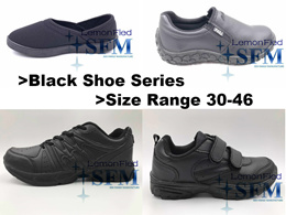 [SG LOCAL]SCHOOL SHOES WORKING SHOES PRICE FROM:$11-$30 (ALL BLACK DESIGNS)