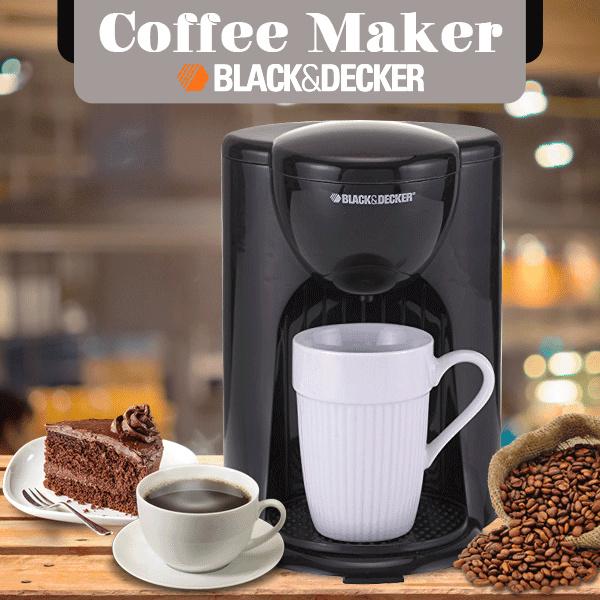 Coffee Maker / Alat Pembuat Kopi / Mesin 1 cup Black Decker DCM25-B1 Deals for only Rp186.000 instead of Rp186.000
