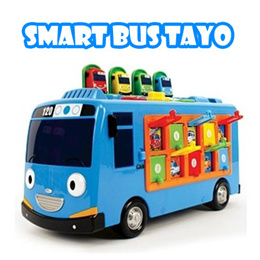 ★Tayo smart bus toy★ Tayo puzzle and talking with sound toy / Tayo EQ IQ play bus (Qxpress / Sweety)