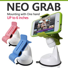 ★Neo Grab Car Holder/Cradle with one hand/Smartphone mount/ iPhone X/8/7/Plus/Galaxy S9/S8/Plus