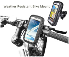 Weather Resistant Bike/ Bicycle/ Motorcycle Phone Case Mount Holder