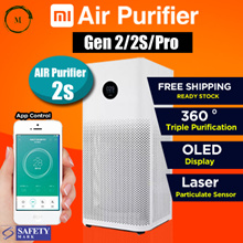 [Newest 100% Original] Xiaomi Air Purifier | Gen 2S/Pro |  App Control Smart Home Air Cleaner
