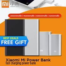 100% Authentic★Xiaomi Mi Power Bank 20000mAh 16000mAh 10000mAh 5000mAh PowerBank★