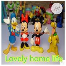 Print ☆ ★ super texture KFC KFC McDonalds four sets of genuine Disney toy! ◇ ◆ ~