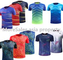 Badminton Pingpong table tennis sports jersey shirt light weight 7design men tshirt