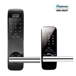 GATEMAN Wide Handle Digital Door Lock WG-100 WG-200 / 4 Card Key + Password