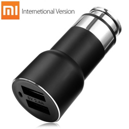 Original Xiaomi Roidmi 2S Bluetooth V4.2 Car Charger Hands-free Call FM Transmitter 5V 2.4A Output A