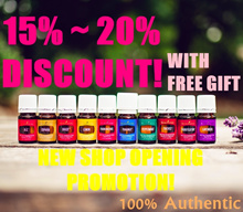 FREE Shipping + V6 Oils! Authentic Young Living Essential Oils on sales (15-20% OFF)
