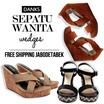 Sepatu Wanita - Sepatu Wedges - Premium Quality - Free Ongkir Jabodetabek