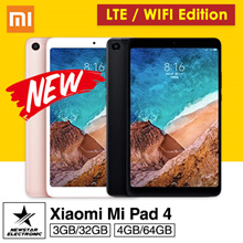Latest Xiaomi Mi Pad 4 * WIFI/LTE * 4GB+64GB * 6000 mAh battery