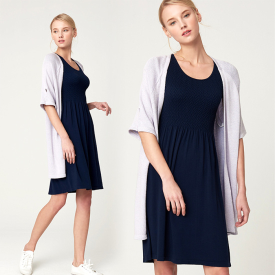セカンドスキンモダルベイジクスマーキングケプスルリブメディアドレスN6WKD4003 面ワンピース/ 韓国ファッション