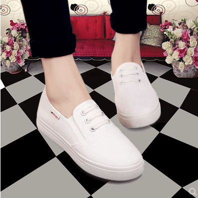 63b7db937dc3 Nurse shoes white spring and summer non-slip flat bottom comfortable white  shoes work shoes