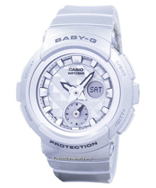 [CreationWatches] Casio Baby-G Shock Resistant World Time Analog Digital BGA-195-8A Womens Watch