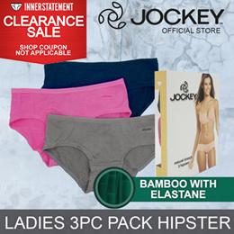 JOCKEY 3PCS LADIES HIPSTER BAMBOO #671294
