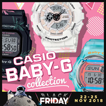 CASIO BABY-G COLLECTION! Free Shipping and 1 Year Warranty!