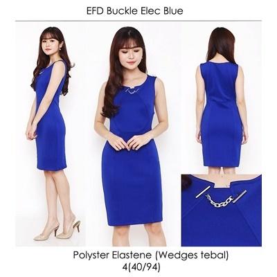 EFD Buckle Elec Blue