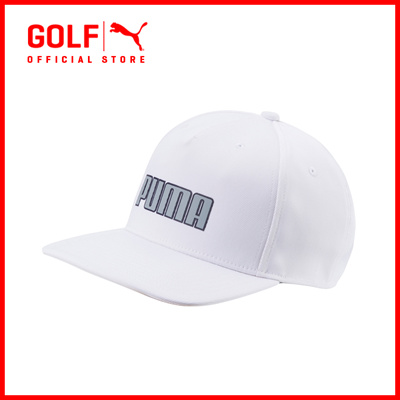 PUMA GOLF Accessories Unisex Youth Go Time Snapback - White ☆ FREE DELIVERY  ☆ AUTHENTIC c5c545a6cc8b