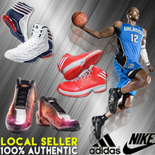 Basketball Shoes ♠ ADIDAS ♠ NIKE ♠ ZOOM BASKETBALL  DERRICK ROSE DWIGHT HOWARD CRAZY LIGHT SNEAKERS