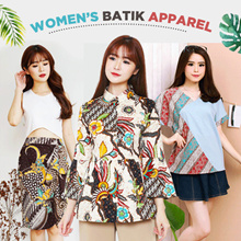 Evercloth Batik Collection Blouse / Dress / Cullote / Skirt / Jumpsuit / Cheongsam