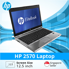 Refurbished HP 2570 Laptop / Intel I5/ 4GB RAM/ 320GB HDD / Euro Keyboard / Win 7 / 1 Month Warranty