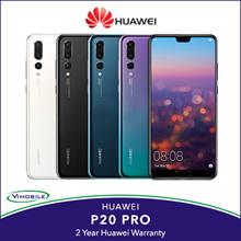 Huawei P20 Pro | 2 Years Huawei Warranty