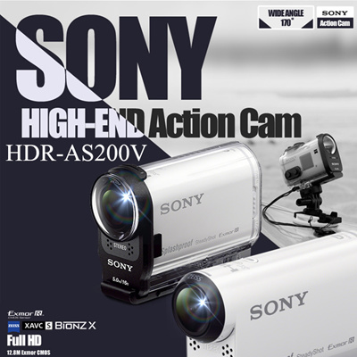 SONY HDR-AS200VT ACTION CAMERA DRIVERS