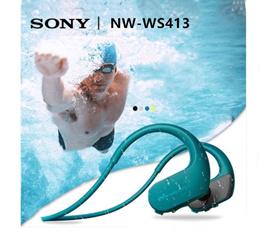 Sony NW-WS413 Waterproof and Dustproof Walkman Earphone MP3 Built in 4GB Memory Swimming