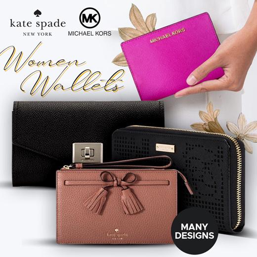 [S$129.00]Local Seller l 100% Authentic Coach l Kate Spade l Michael Kors | Wallet Wristlet Bag