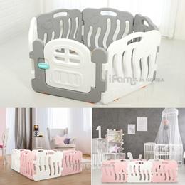 ★IFam Babyroom★Babyroom 2pcs/4color/Babyroom+Door type 2pcs/Play yard/Baby fence/Baby and kids Safe