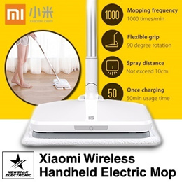 Xiaomi Handheld Electric Mop /  2000mAh / Wiper Floor Washers Rechargeable Mop[READY STOCK]