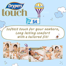 [Official Store] Drypers Touch Carton Sales / Diapers/ Tape
