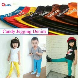 [Free Shipping] Kids Jeans/Kids Jeggings/Unisex/Candy color Jeans/Soft Jeans/Stretch Jeans