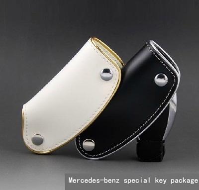 Mercedes key fob R350 S350 E300 GLK350 B200SLK special leather car key Kit