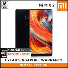 Global Version Xiaomi MiX 2 l Local 1 Year warranty / Authentic Xiaomi / 6GB RAM / 64GB ROM /