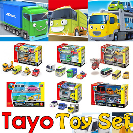 ★Genuine★The Little Bus Tayo Special Mini Friends Toy Set★Kids gift Toys/Childrens Brain Development