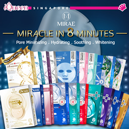 【Mirae】♥ Best Seller Mirae Ex8 Minutes Series Mask ♥ Cushion/2 Step Plus/Ampoule/Aroma ♥