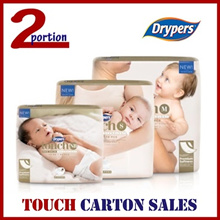 [FREE SHIPPING] DRYPERS TOUCH PREMIUM BABY DIAPERS