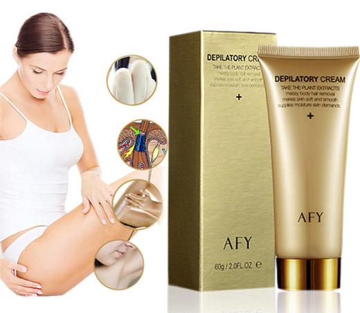 Qoo10 Powerful Painless Epilation Permanent Hair Removal Cream