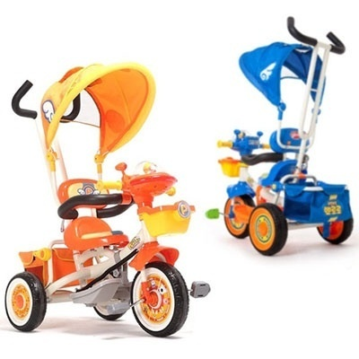 ★ Pororo New Best Tricycle ★ Pororo Tricycle orange / blue color ★ (EMS shipping / Given sweety)