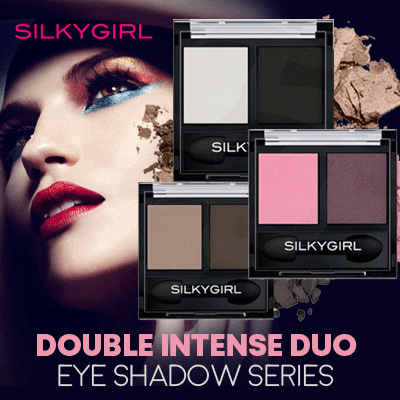 SILKYGIRL DOUBLE INTENSE DUO EYE SHADOW | ALL VARIANT AVAILABLE