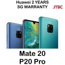 Huawei MATE 20 / P20 Pro Smartphone | TWILIGHT COLOUR! / Local Set with 2 Years Warranty | LEICA LEN