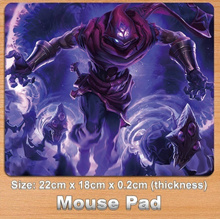 Malzahar League Of Legends Decorate Game Mouse Pad / Mouse Mat (Size: 22cm by 18cm)