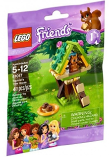 LEGO Friends 41017 Squirrels Tree House Set New In Box Sealed #41017