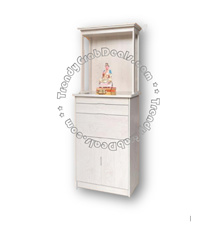 Altar Table / Cabinet WL8321-8332 White Wash (Gloss)
