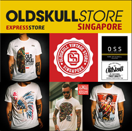 c296490f2 Oldskull Express digital heat transfer series on best quality t-shirts
