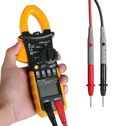 HYELEC MS2108A Digital Clamp Multimeter AC DC Voltage and Current / Resistance / Capacitance / Frequ