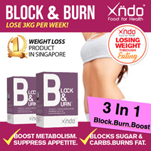 [National Day Special] Twin Pack Block and burn 53% Off