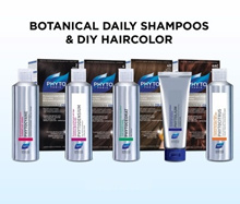 Mix And Match Your Favourite Phyto Shampoo and Phytocolor 3 For $49.90