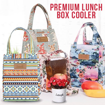 READY STOCK - 131 Lunch Cooler Bag Tas Bekal Dengan Lapisan Penahan Panas/Dingin Korea - BEST SELLER